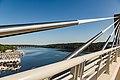 Saint Croix Crossing Bridge over the St. Croix River, Oak Park Heights MN (36305879961).jpg