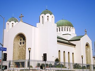 Saint Sophia Cathedral, Los Angeles Church in California, United States