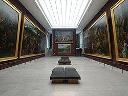 Salle de l'Histoire d'Alexandre par Charles Le Brun, Peintures françaises, Musée du Louvre.jpg