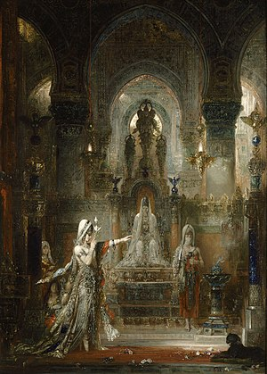 L'Apparition - Image: Salome Dancing before Herod by Gustave Moreau