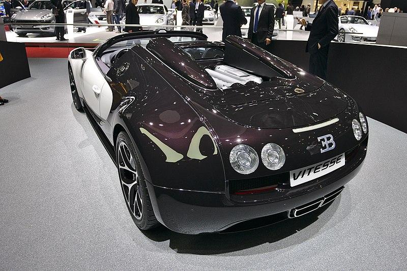 File salon de l 39 auto de gen ve 2014 20140305 bugatti veyron 16 4 grand sport vitesse - Salon de l automobile 2014 ...