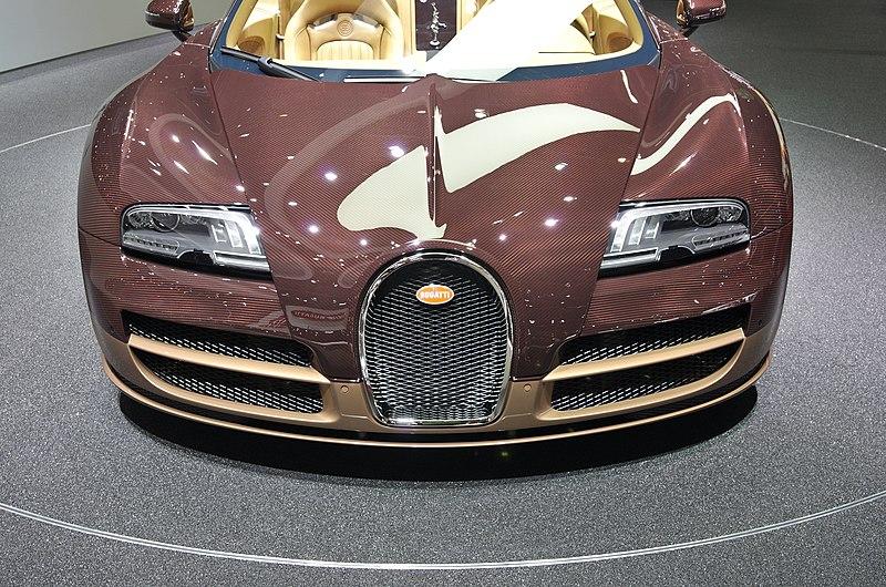 File salon de l 39 auto de gen ve 2014 20140305 bugatti veyron grand sport vitesse rembrandt - Salon de l automobile 2014 ...