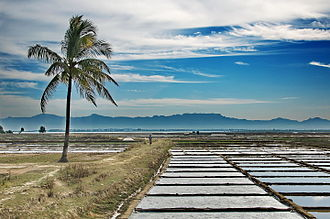 Teknaf Upazila - Salt Field in Teknaf Upazila.