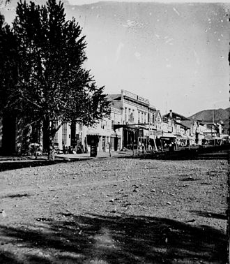 History of Salt Lake City - Street view, Salt Lake City, 1869