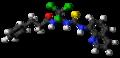 Salubrinal molecule ball.png