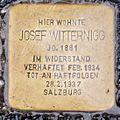 Salzburg - Stolperstein Witternig Josef - Rainerstraße 2.jpg