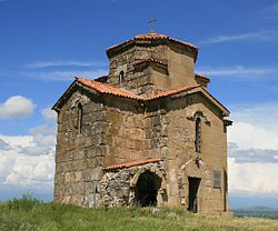 Samtsevrisi monastery complex. A 7th-century church-a (Photo A. Muhranoff, 2011).jpg