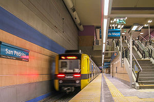 San Pedrito (Buenos Aires Underground) - Image: San Pedrito (GCBA)