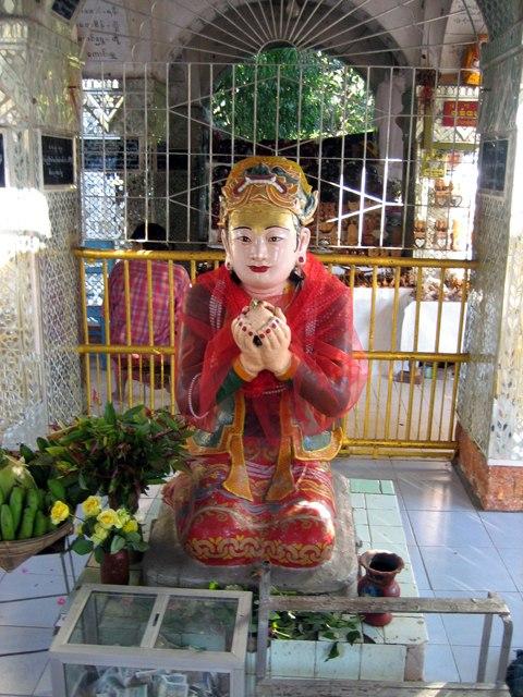 Sanda Muhki, Mandalay Hill, Myanmar
