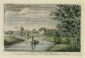 Sanderumgaard 09 of 12 Udsigt i Hauge koloreret 1803 Clemens.png