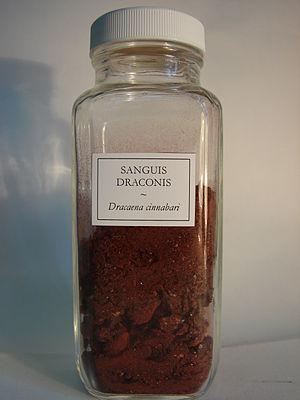 Dragon's blood - Dragon's blood from Dracaena cinnabari