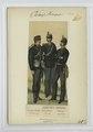 Sanitäts-Truppe- Sanitäts-Soldat (feldmässig), Unterofficier (in Parade), officier (in Parade) (NYPL b14896507-90707).tiff