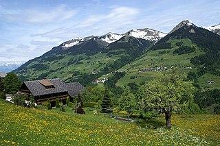 Sankt Gerold Place in Vorarlberg, Austria