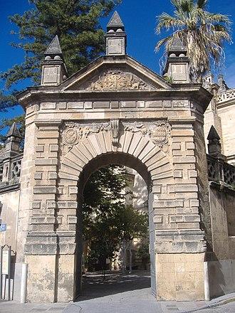 Cristóbal de Rojas - Sanlúcar de Barrameda - Church of Santo Domingo. Portada compás