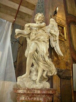 Sant'Andrea delle Fratte, Angelo del Bernini (...