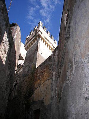 Santa Maria di Licodia - Tower of Palazzo Bruno