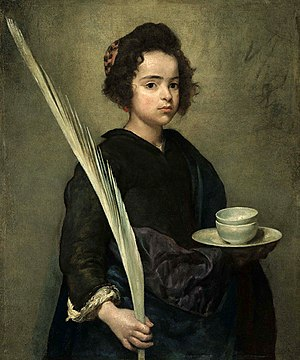 Justa and Rufina - Saint Rufina, by Velázquez
