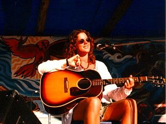 Sarah McLachlan - McLachlan at a 1993 benefit for Clayoquot Sound