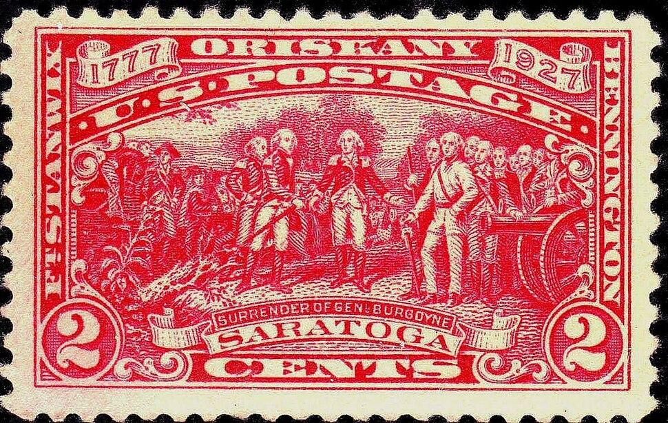 Saratoga 1777 Oriskany 1927 Issue-2c