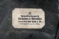 Sauerthal Dachschieferbergwerk Nordstern Marcellus.JPG