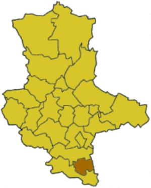 Weißenfels (district) - Image: Saxony anhalt wsf