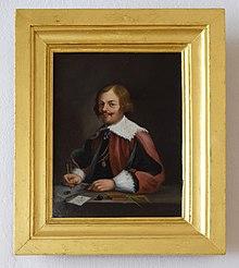 Bildnis Jacques Callot; Ölgemälde nach Anthonis van Dyck; Schloss Caputh (Quelle: Wikimedia)