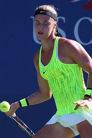 Anna Karolína Schmiedlová - Schmiedlová at the 2016 US Open