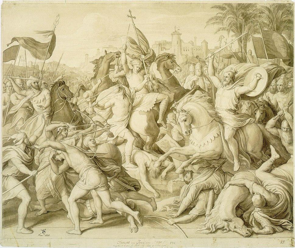 Schnorr von Carolsfeld - Die Schlacht von Iconium