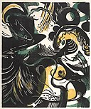 Schopfungsgeschichte II (Tale of Creation II) 1914 Franz Marc.jpg