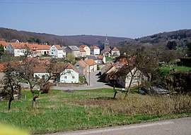 A general view of Schorbach