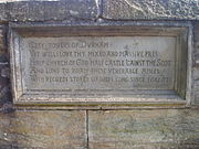 Scott inscription (Prebends Bridge)