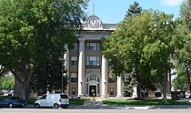 Scotts Bluff County courthouse from E 1.JPG