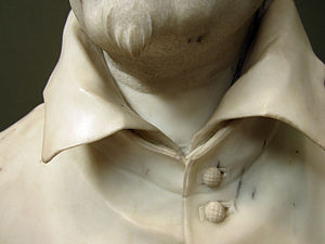 Bust of Alessandro Peretti di Montalto - Image: Sculpture of Cardinal Montalto by Bernini 7