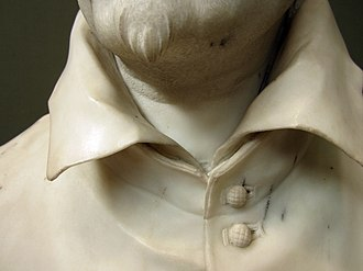 Bust of Alessandro Peretti di Montalto - Image: Sculpture of Cardinal Montalto by Bernini 7