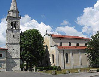Sežana - Saint Martin's Church