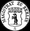 Seal of Berlin 1853 (Magistrat).png