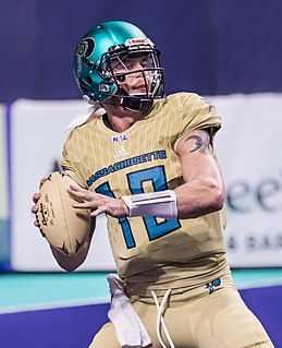 Sean Brackett American football quarterback