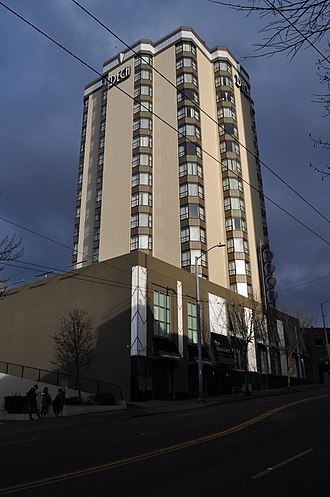 University District, Seattle - Hotel Deca (formerly Meany Hotel)