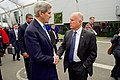 Secretary Kerry Chats With California Gov. Brown at the COP21 Climate Change Summit in Paris (23242488619).jpg