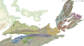 Sedimentary basins in Nova Scotia.png