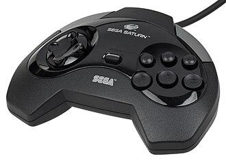 Sega Saturn - 1st North American controller
