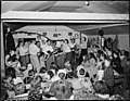 Services at the Pentecostal Church of God. Lejunior, Harlan County, Kentucky. - NARA - 541336.jpg