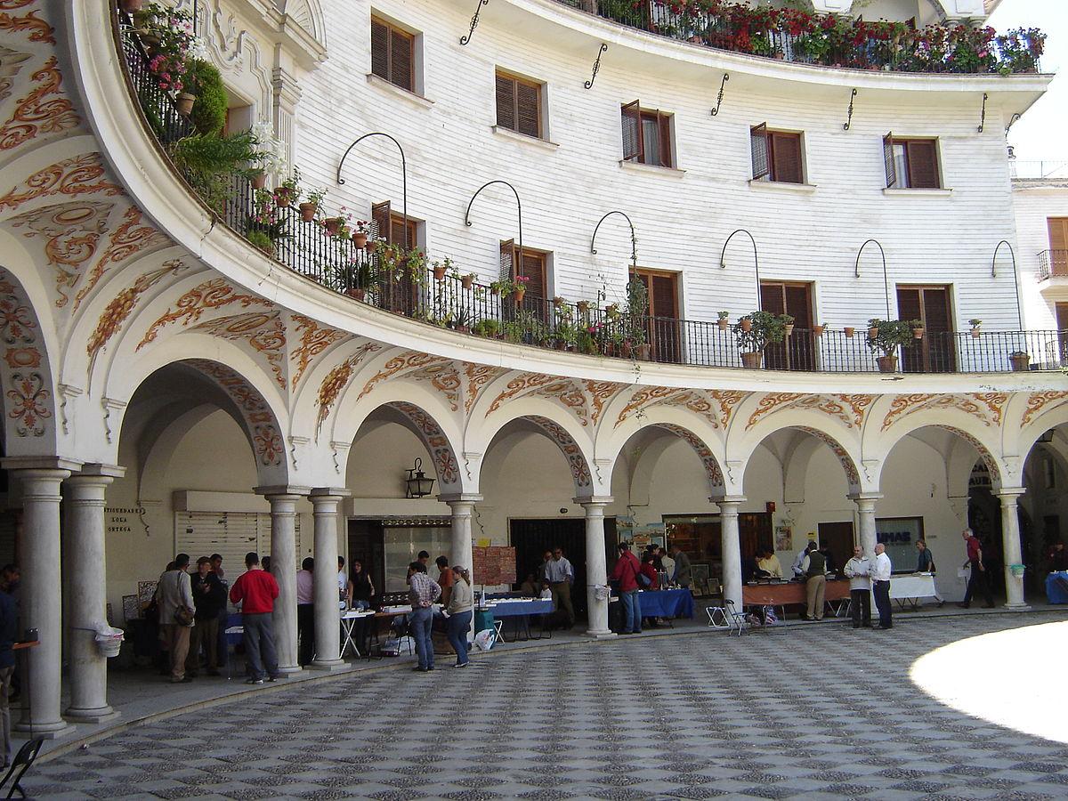 Plaza del cabildo sevilla wikipedia la enciclopedia libre for La fabrica del mueble sevilla