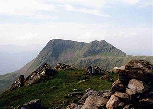 Sgùrr na Sgine - Sgùrr na Sgine seen from the outlying top of Faochag