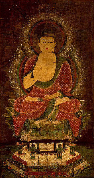 Takeminakata - Medieval Buddhist legends claim the Suwa deity to be a relative of Gautama Buddha (pictured)
