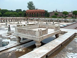 Punjabi culture - The Shalimar Gardens in Lahore