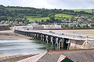 A379 road - The Shaldon Bridge