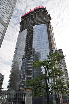 Shangri-La Toronto construction June 2011 (1).jpg