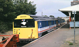 Island Line, Isle of Wight - Image: Shanklinstn