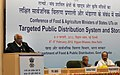 Sharad Pawar addressing the State Food and Agricultural Ministers' Conference to discuss issues related with Targeted Public Distribution System, Procurement of Foodgrains, Storage and Computerization of PDS.jpg